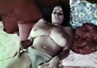 uschi digard - done lotta love vintage striptease