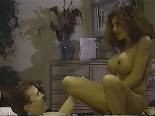 Big Tits Latina  Pornstar Riding Vintage