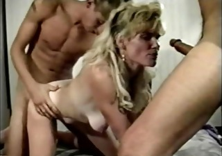 Blonde Blowjob Hardcore  Mom Old and Young Threesome Vintage