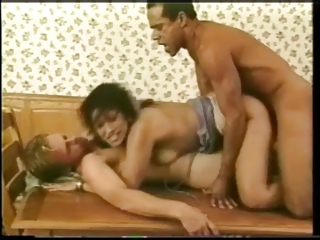 Racquel Lace takes DP on office table