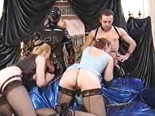 Groupsex Latex Lingerie Vintage