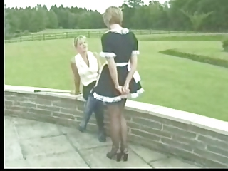 Maid Spanking Uniform Vintage