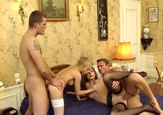 Groupsex Hardcore  Stockings Swingers Vintage