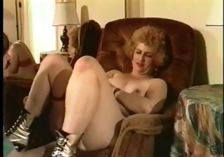 vintage grandmom fucking hard on be passed on couch