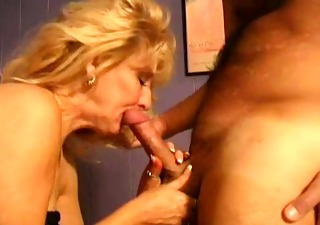 Blonde Blowjob Mature Vintage