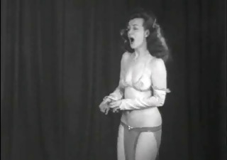 Amateur Erotic  Solo Stripper Vintage