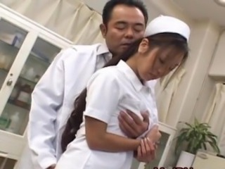 Asian Babe Cute Doctor Fantasy  Nurse Uniform