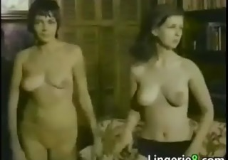 topless girls dancing around
