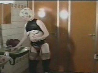 European German Mature  Toilet Vintage