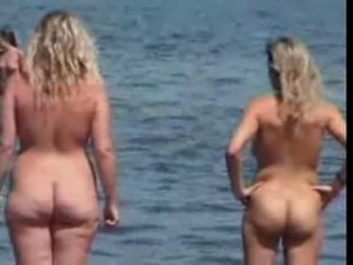 Nudist Beach Perv 7 Big Big Tits MILF