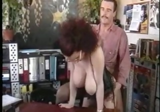 Big Tits Doggystyle Glasses Hardcore Lingerie  Natural Office Secretary Vintage