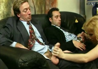 Daddy Handjob Threesome Vintage