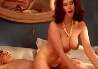 retro busty milf enjoys forbidden dong