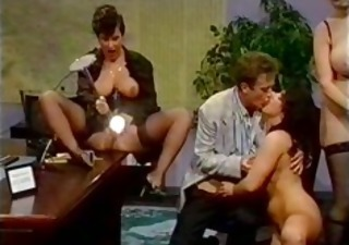 Groupsex  Office Pornstar Secretary Stockings Vintage
