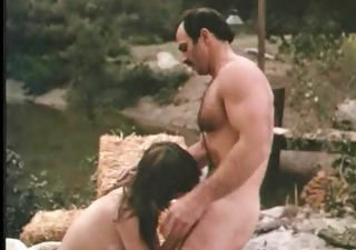 Blowjob Daddy Outdoor Vintage