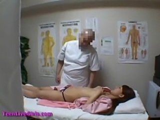 Asian HiddenCam Japanese Massage Teen Voyeur