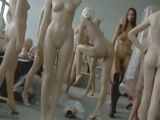 Nude Stage Performance 9 - Human Exploration