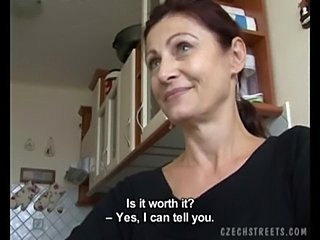 Amateur Blowjob Cash European Kitchen Mature