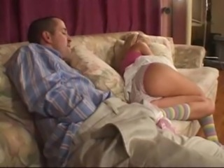 Ass Babysitter Panty Sleeping Teen