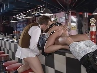 Hardcore Pornstar Riding Threesome Vintage