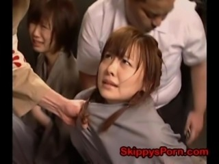 Asian Forced Japanese Prison Slave Teen