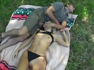 Blowjob Cute Outdoor Small Tits Teen
