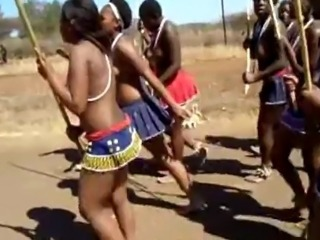 Dancing Ebony Outdoor Teen