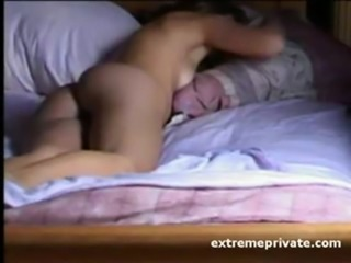 HiddenCam Mature Sleeping Voyeur