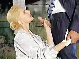 Clothed Handjob  Outdoor Vintage