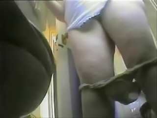 Chubby HiddenCam Mature Toilet Voyeur