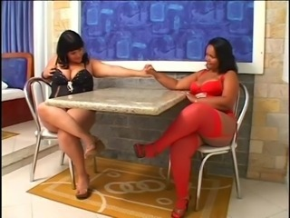 Big Tits Brazilian Latina Lesbian Lingerie  Natural Stockings