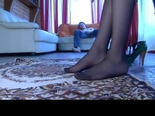 Feet Pantyhose Teen
