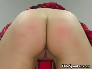 Ass Pain Spanking Teen