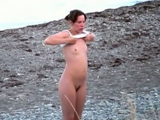 Amateur Nudist Outdoor Small Tits Teen