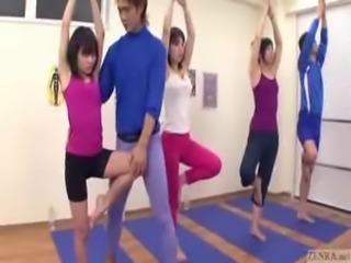 Japanese trainer gets erection  ... free