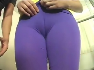 Hot sexy amateur getting some at the gym