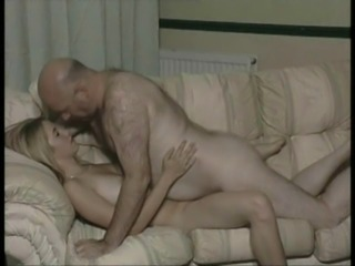 British Teen fucked by old man