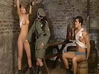 Bondage Prison Teen Threesome Uniform