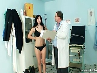 Big Tits Brunette Doctor Teen Uniform