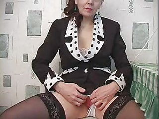 Amateur Mature Russian Stockings