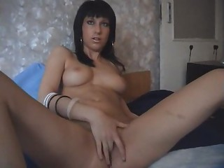 Amateur Brunette Cute Masturbating Natural Teen