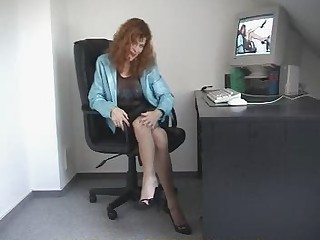 Big Tits Mature Office Secretary