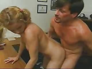 Cute Daddy Doggystyle Hardcore Pigtail Teen