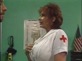 Big Tits Mature Nurse Pornstar Uniform