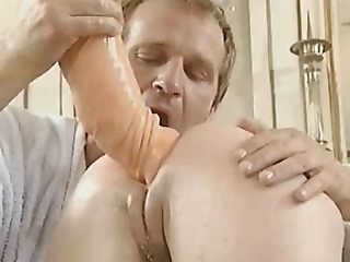 Ass Dildo Doctor German  Pussy Shaved Uniform