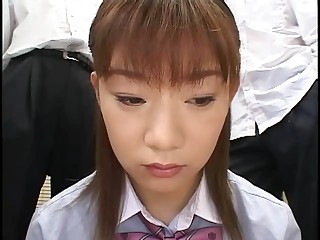 Asian Bukkake Japanese Student Teen