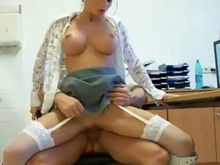 German secretary creampie - TYR