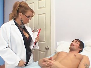 Big Tits Doctor Glasses  Pornstar Uniform