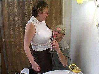 Amateur Big Tits Drunk Mom Old and Young