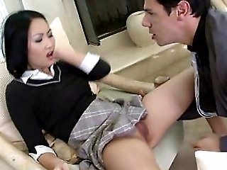Asian Cute Japanese Pussy Shaved Skirt Student Teen